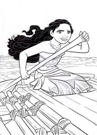 Moana Coloring Pages Disney At Getdrawings Free Download
