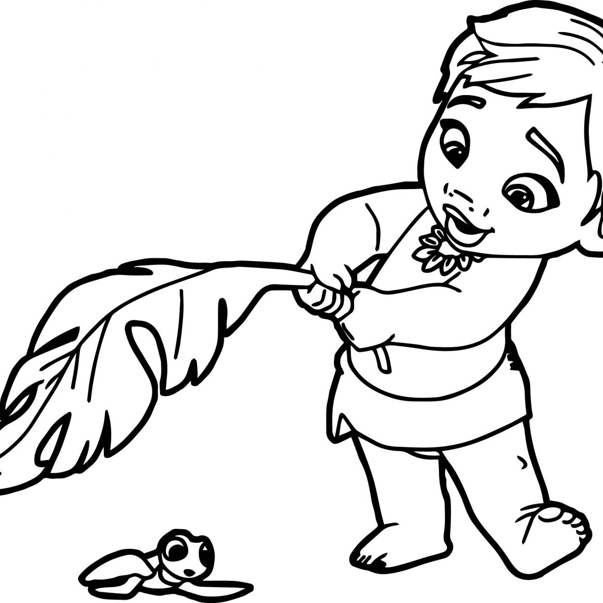 Moana Coloring Pages Free At Getdrawings Com Free For