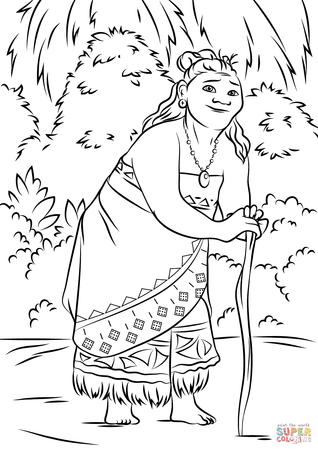 Moana Coloring Pages To Print At Getdrawings Com Free For Personal