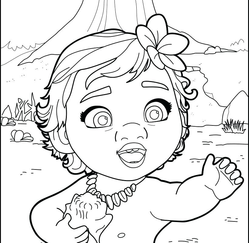 Moana Free Coloring Pages At Getdrawings Com Free For