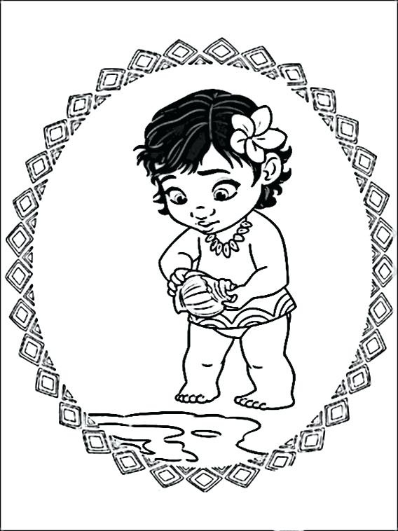 image about Moana Printable Coloring Pages named Moana Printable Coloring Web pages at  Absolutely free for