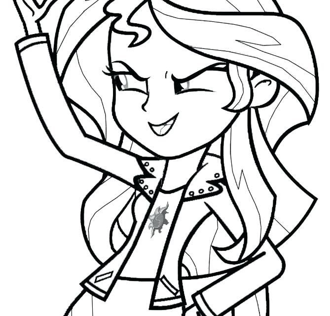 669x640 Equestria Girls Coloring Pages Mobile Coloring Pages Animals Free