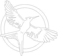 Mockingjay Coloring Page At Getdrawings Free Download