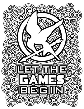 270x350 The Hunger Games Coloring Pages Book