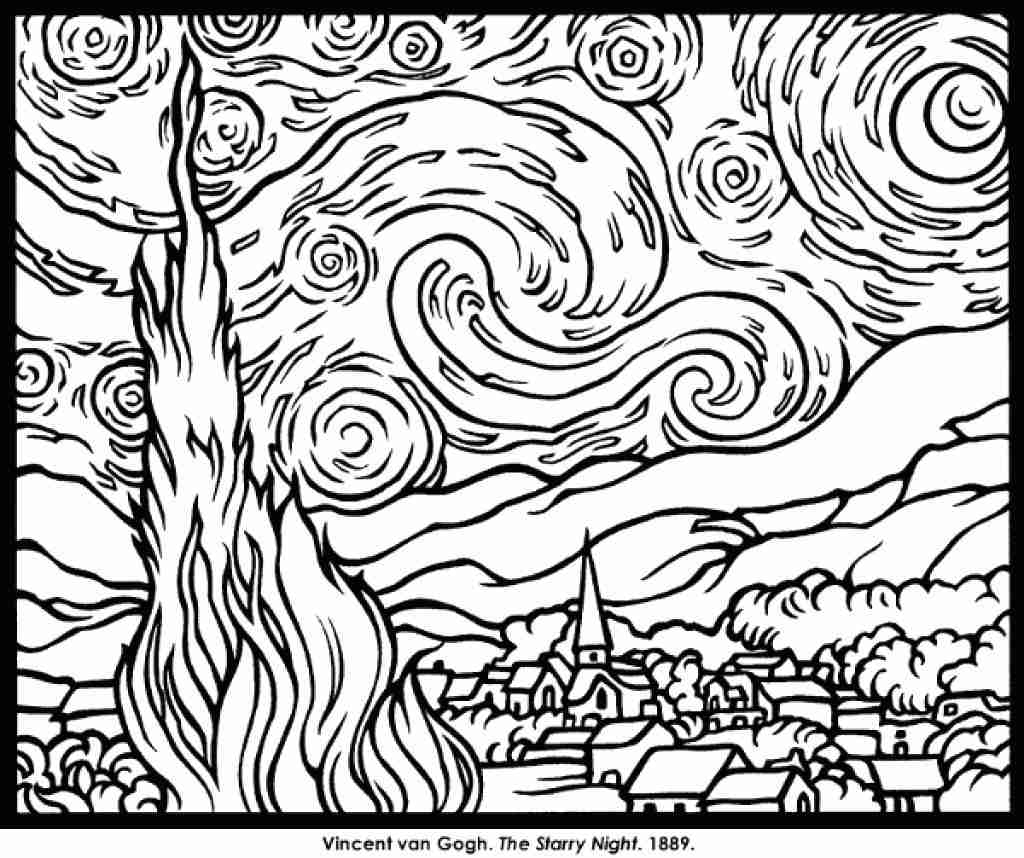 1024x858 Dorable Modern Art Coloring Pages Image Collection