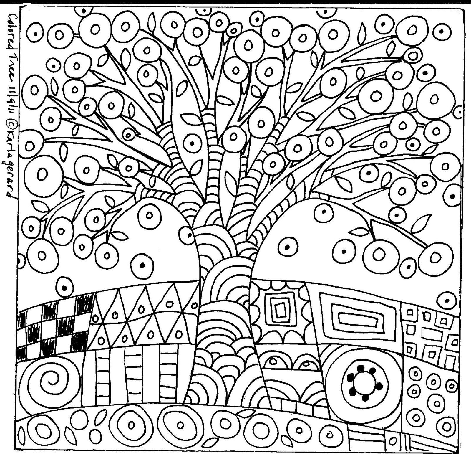 1600x1541 Folk Art Coloring Pages Book Org On Modern Art Coloring Book Pages