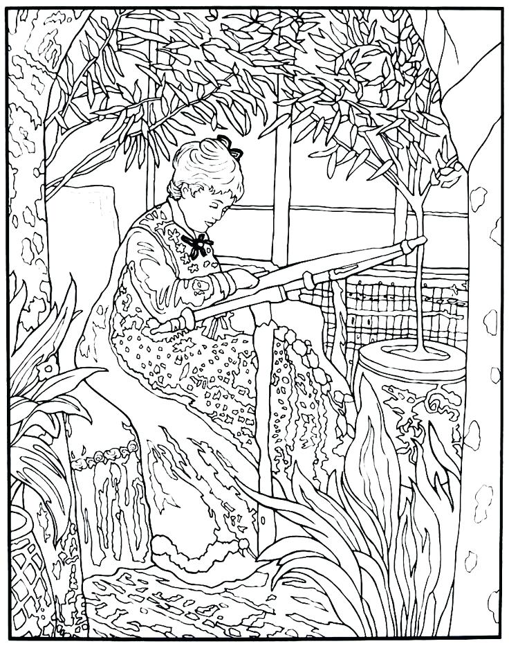 736x933 Modern Art Coloring Pages