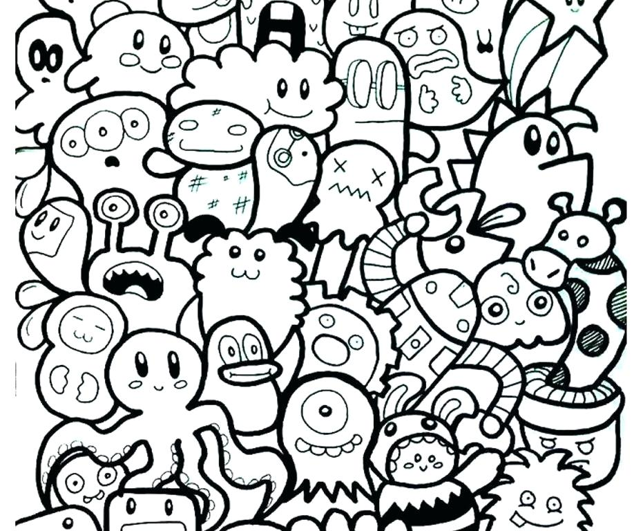 931x768 Abstract Modern Art Coloring Pages Awesome For Kids Excellent Free
