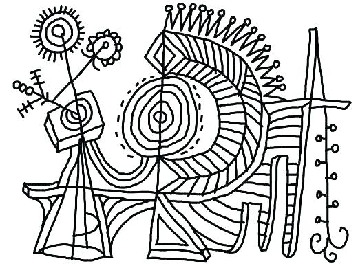 520x390 Art Coloring Pages Famous Artist Coloring Pages Modern Art