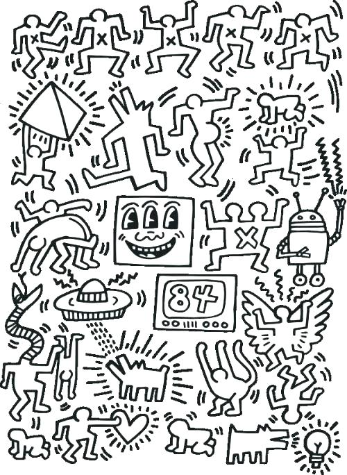 500x684 Art Coloring Pages Tile Coloring Page Free Printable Coloring