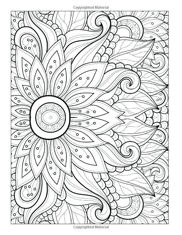 600x776 Summer Coloring Pages For Adults Free Mandala Coloring Pages