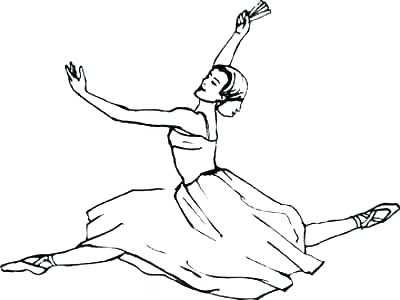 400x300 Ballet Coloring Pictures Ballet Coloring Pages Ballerina Coloring