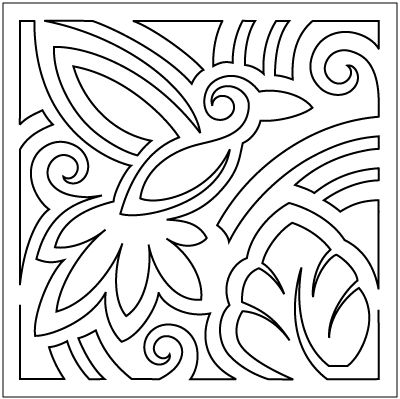400x399 Best Molas Images On Embroidery, Machine Embroidery