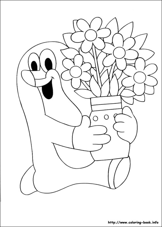 567x794 The Mole Coloring Pages On Coloring