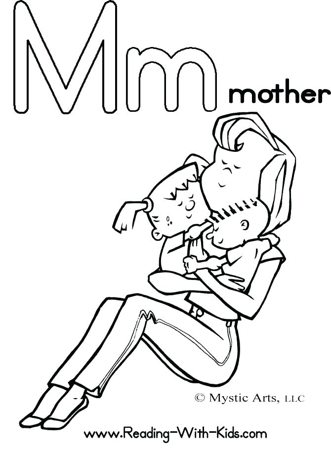 670x922 Mother Rewards Coloring Pages Mom Dad Coloring Pages