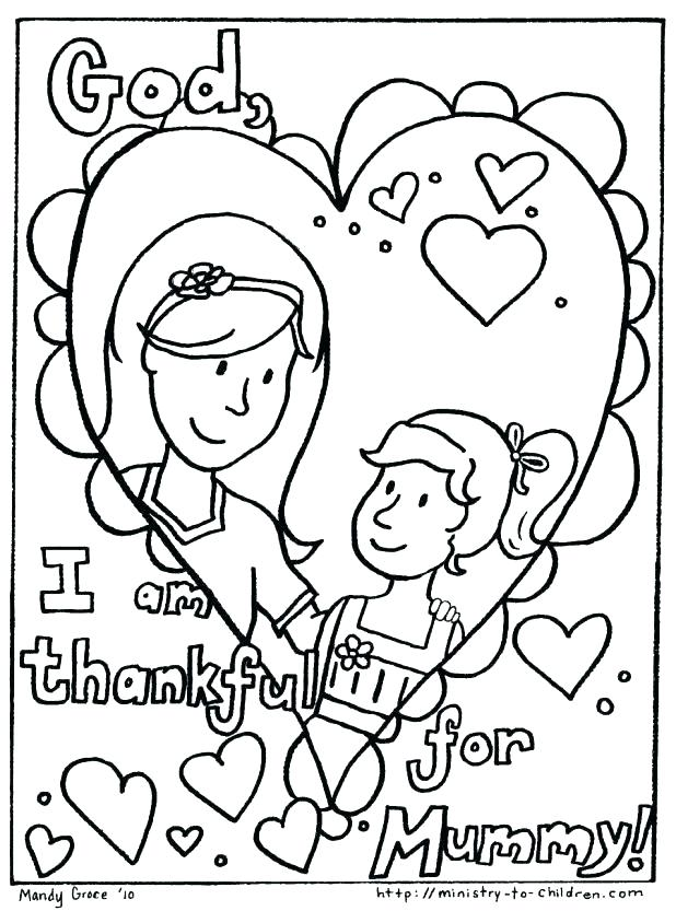 Mom Birthday Coloring Pages