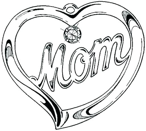 513x461 Happy Mothers Day Coloring Sheets Printable Pages Mother Color Da
