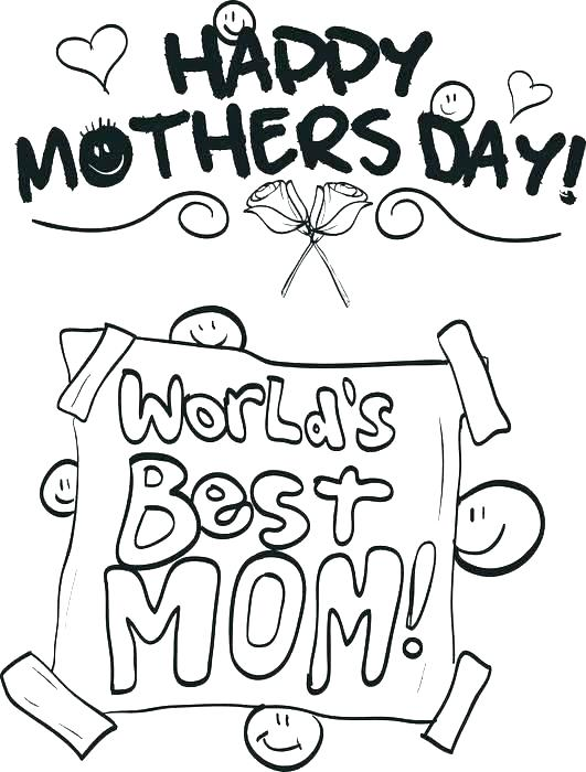 531x700 Mom Coloring Pages I Love U Mom Coloring Pages S S I Love You Mom