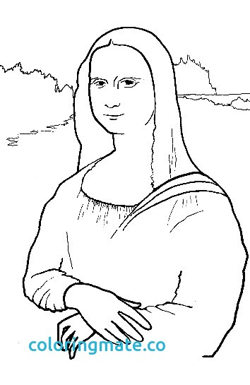 354x545 Mona Lisa Coloring Page Awesome Free Coloring Pages Of La Mona