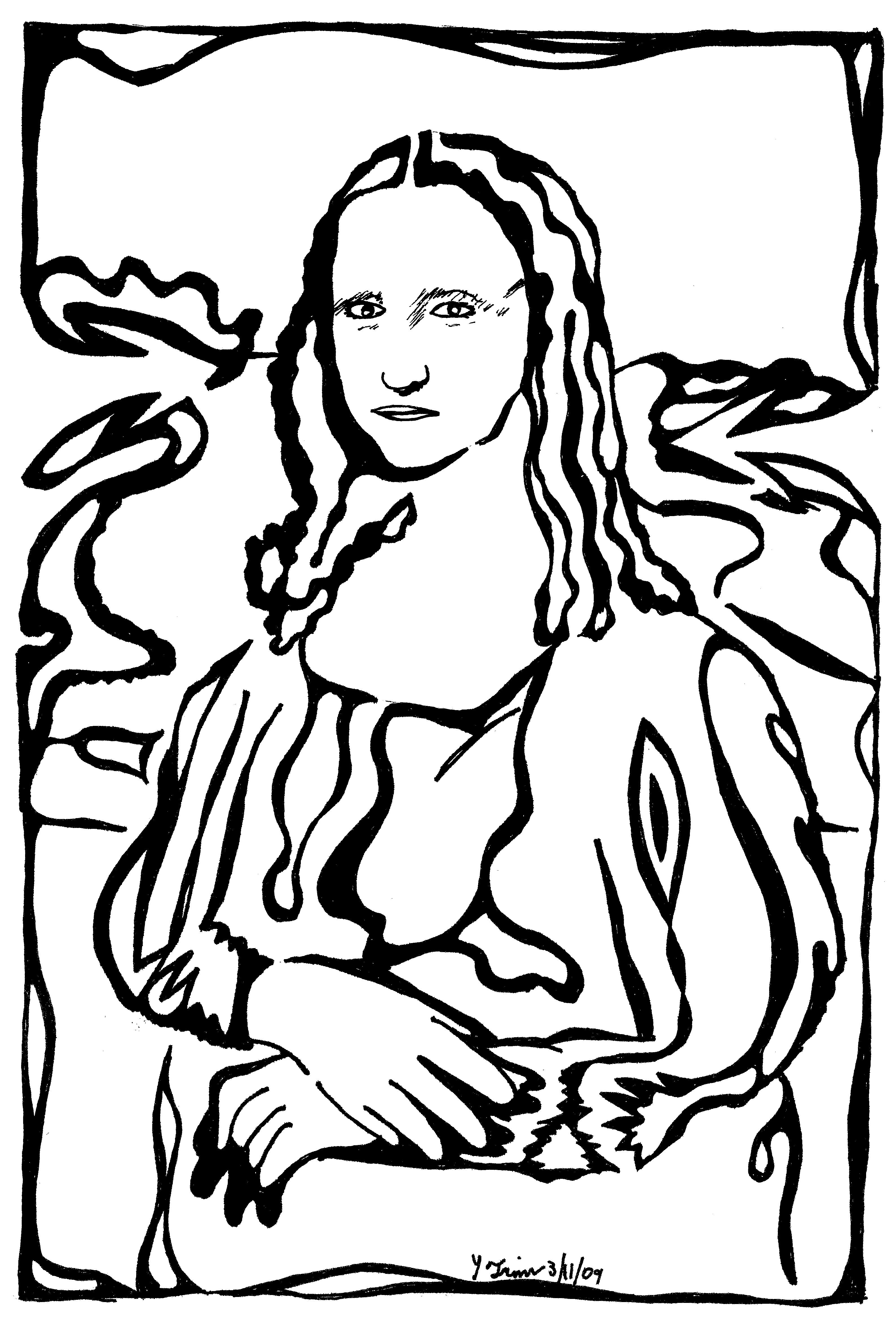 3178x4670 Perfect Afdbebccadeeabb Pix For Mona Lisa Clipart Mona Lisa Clip