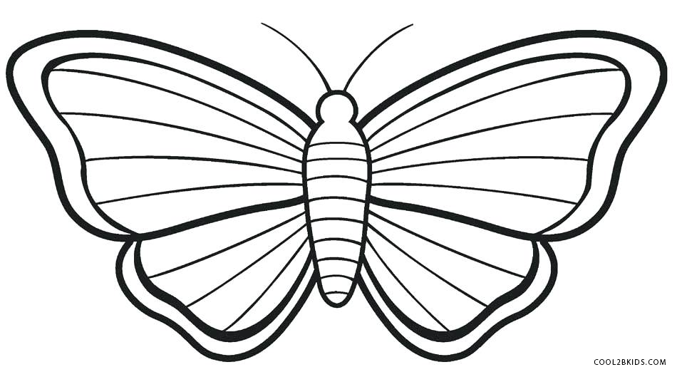 950x522 Free Printable Butterfly Coloring Pages For Adults Images To Color