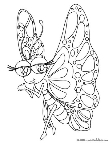 364x470 Monarch Butterfly Coloring Pages
