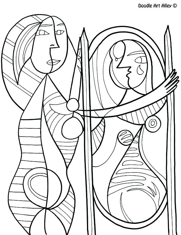 618x800 Monet Coloring Pages Artistic Coloring Pages Coloring Page