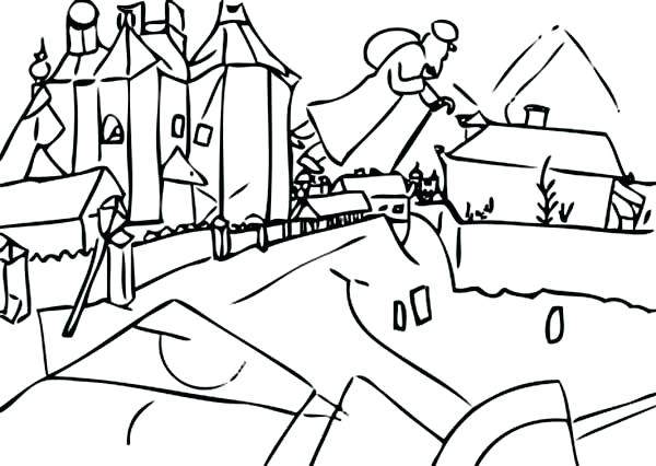 600x426 By In Famous Paintings Coloring Page Batch Over