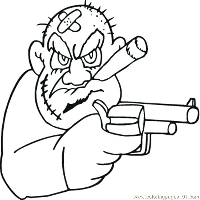 650x650 Money Coloring Page Old Mafioso Is Looking For Money Coloring Page