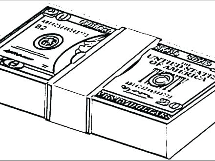 440x330 Money Coloring Sheets