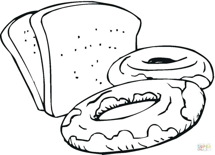 728x525 Bread Coloring Pages Coloring Pages Bread With Wallpaper Dual