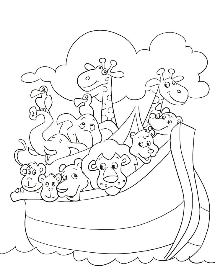 728x942 Noah And The Ark Coloring Pages Medium Size Of Ark Coloring Pages