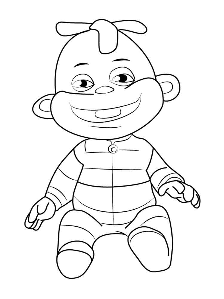 750x1000 Sid The Science Kid Coloring Pages Sid The Science Kid Coloring