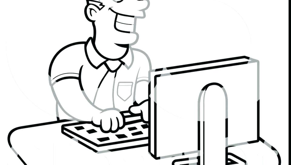 960x544 Computer Lab Coloring Page Twisty Noodle Computer Lab Coloring