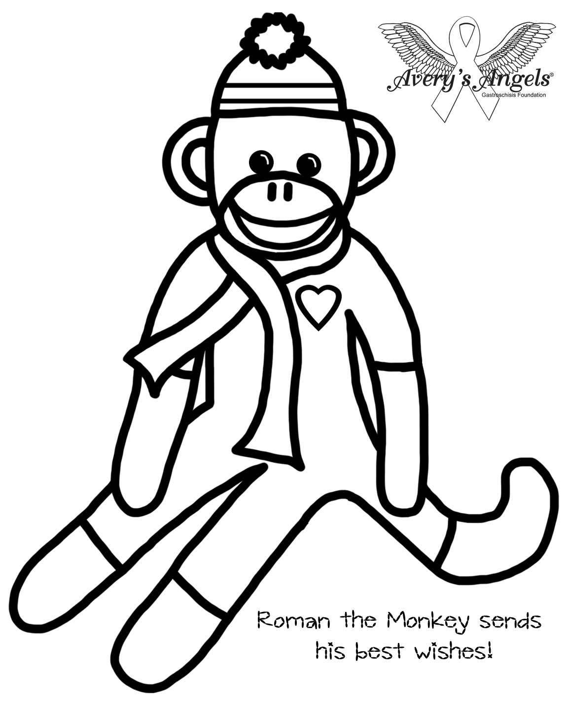 1152x1440 Homely Idea Monkey Coloring Pages Of Sock Murderthestout