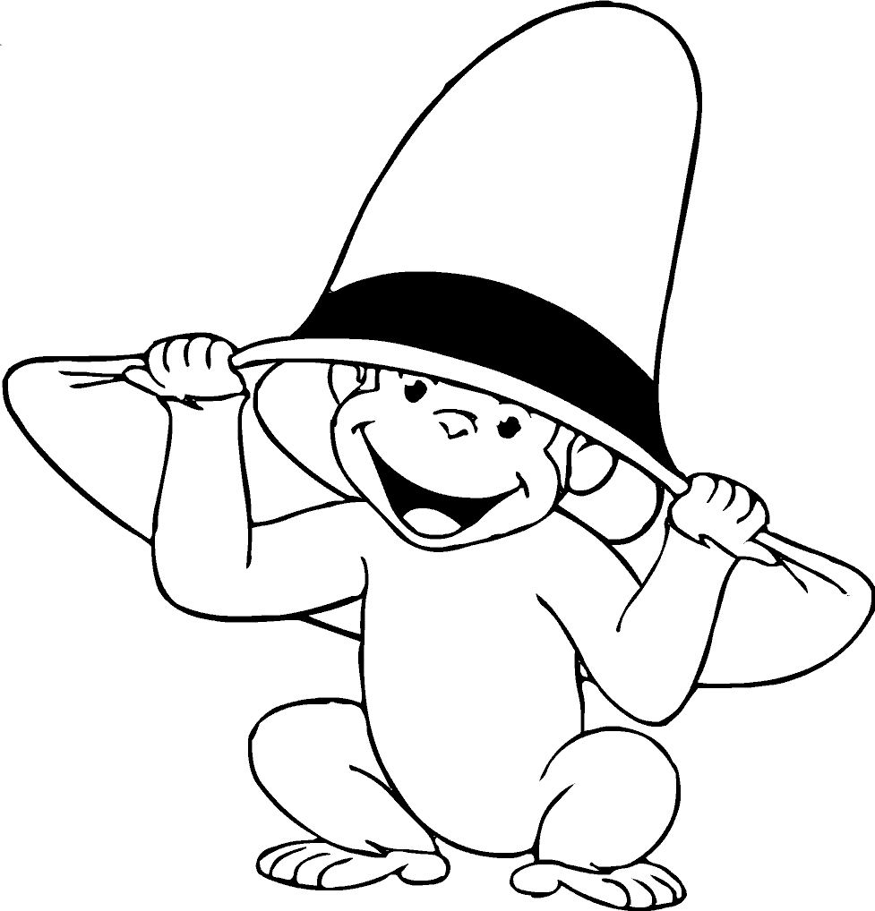 977x1018 Best Printable Monkey Coloring Pages Free Printable