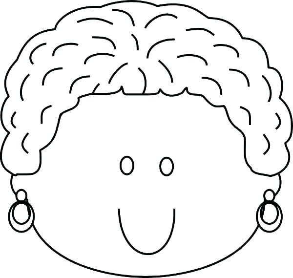 600x569 Face Coloring Page Coloring Page Face Happy Face Coloring Page