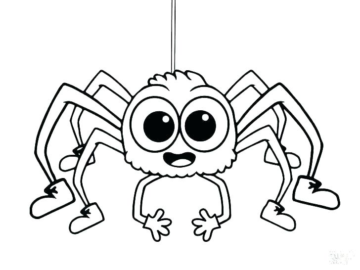 728x546 Coloring Pages Of A Monkey Cute Monkey Coloring Pages Spider
