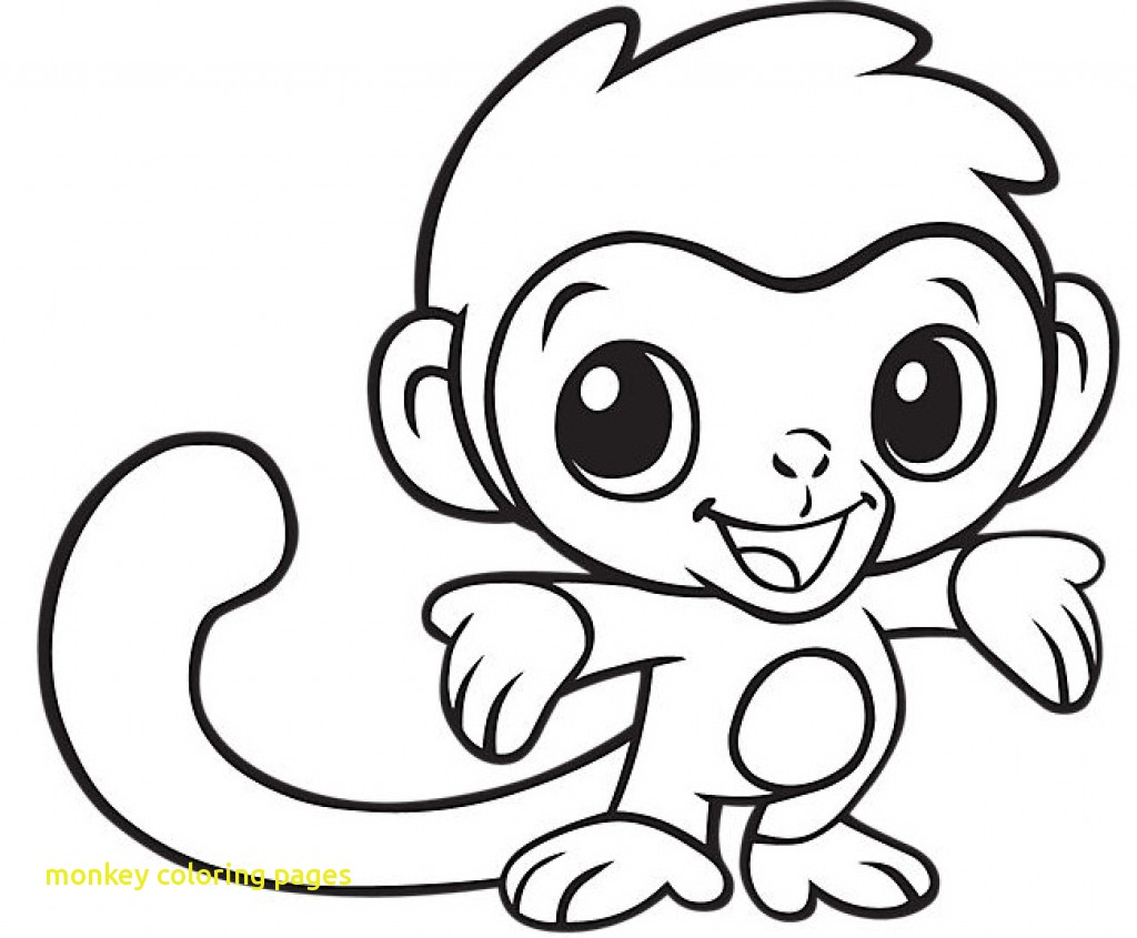 1024x845 Monkey Coloring Pages With Baby Monkey Coloring Pages Rawesome
