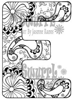 236x317 Inverted Monogram Letter Q White Backround Giclee Print