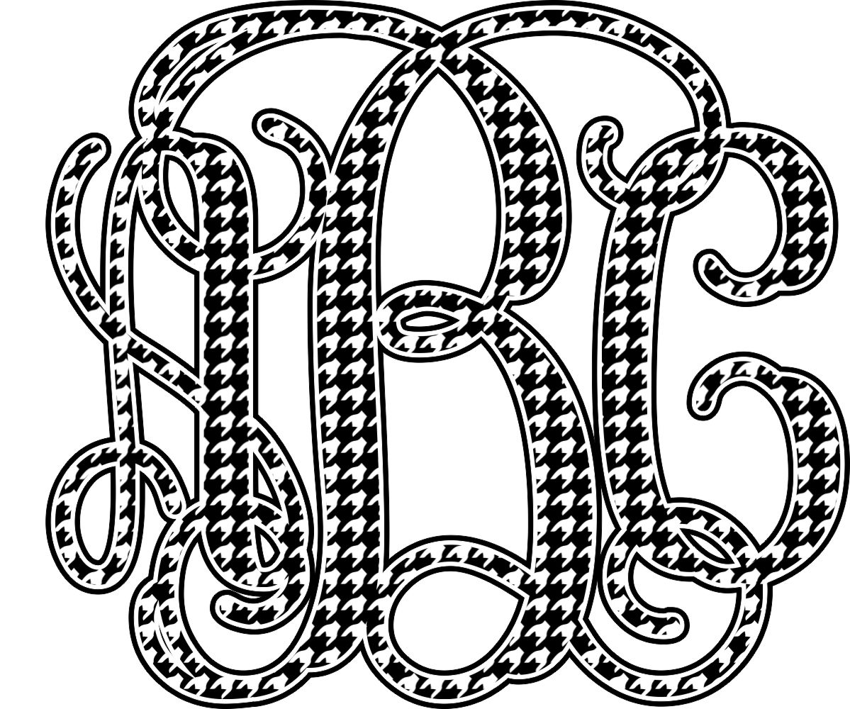 1199x1000 Monogram Coloring Pages Sketch Coloring Page