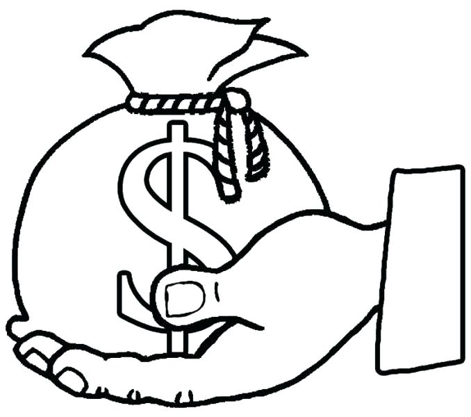 678x600 Money Coloring Page Monopoly Coloring Pages Monopoly Man Money