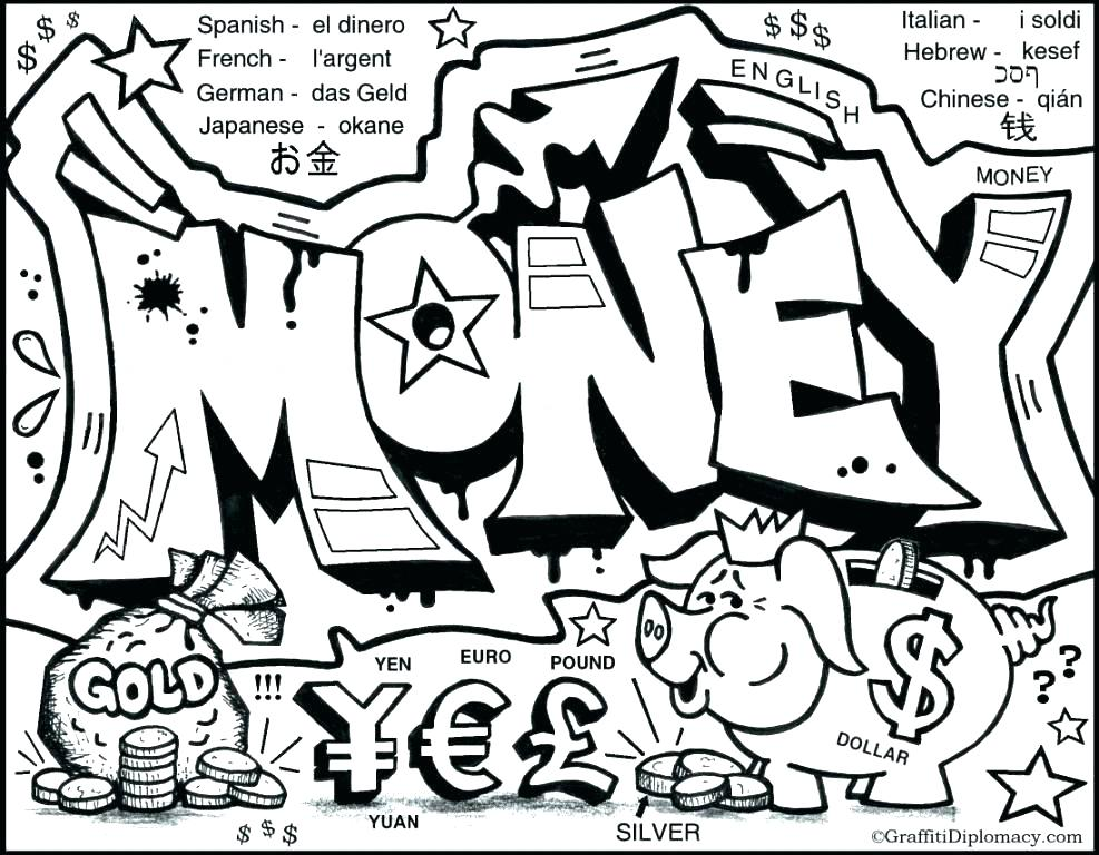 987x768 Monopoly Coloring Pages Coloring Pages Of Money Monopoly Coloring