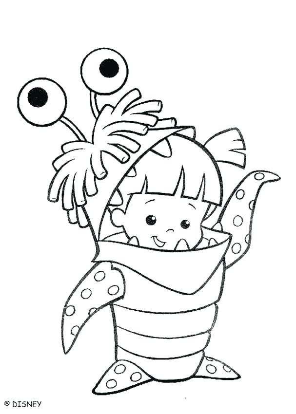 607x850 Monster Inc Coloring Pages Monster Energy Coloring Pages Free