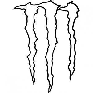 302x302 How To Draw Monster Energy Logo, Monster Logo Step Celtic