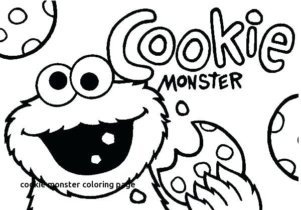 600x418 Cookie Monster Face Coloring Pages Elegant Best Sesame