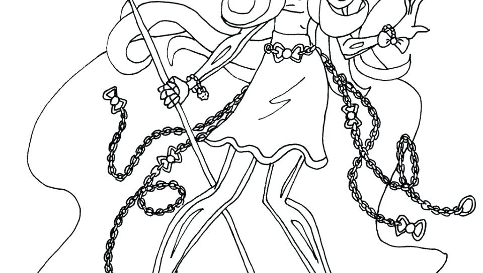960x544 Monster High Free Coloring Pages Wolfs Heels Coloring Pages