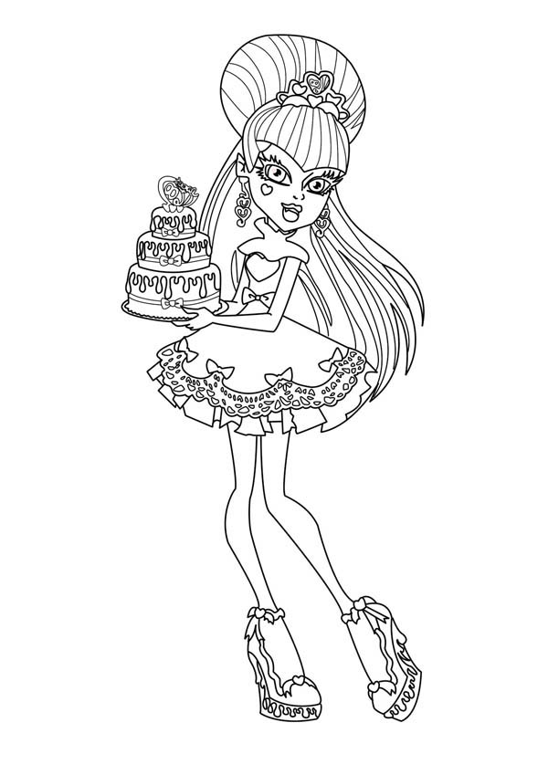 Monster High Coloring Pages All Characters at GetDrawings ...