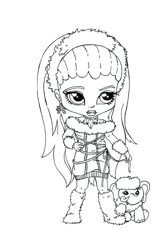 537x800 Monster High Coloring Pages Monster High Coloring Pages Baby
