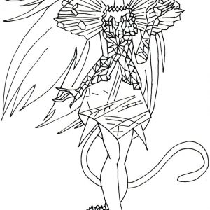 300x300 Monster High Scarrier Reef Coloring Pages Fresh Free Printable
